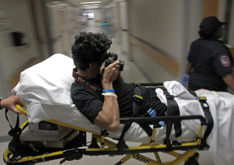 AP Photographer Loses Foot in Bomb Blast, Never Stops Taking Pictures