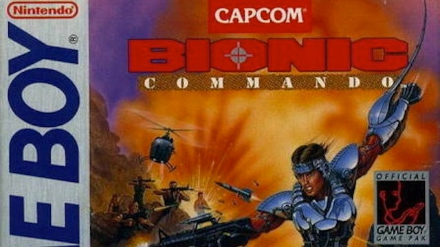 Game Boy Version of Bionic Commando Coming to Nintendo eShop on Dec. 29