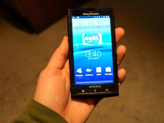 Sony Ericsson XPERIA X10 Announced: Sony's First Android Device