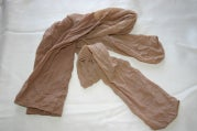 Use Old Pantyhose to Use Up Old Soap
