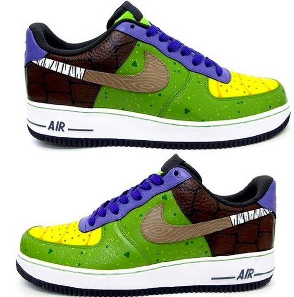 I want these Donatello sneakers right now