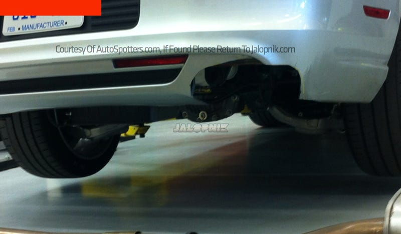 More Proof The 2015 Mustang Will Have An Independent Rear Suspension