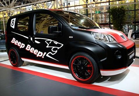 Bipper Beep Beep Concept Van Bows at Bologna