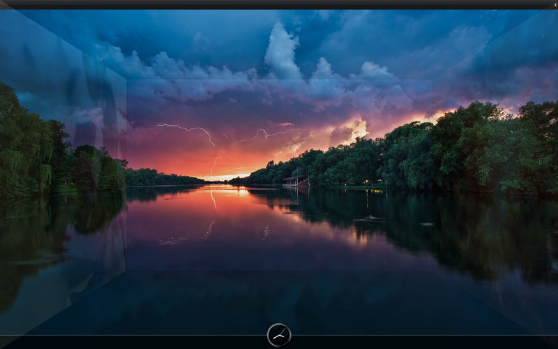 Roll Your Own Lightning at Sunset Desktop