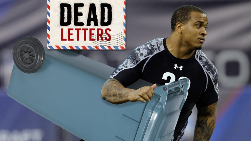 Dead Letters: Maurkice Pouncey Stole My Buddy's Trashcan (Plus: Lots And Lots Of Hate Mail!)