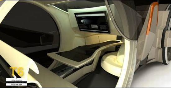 T6 Volkswagen Concept Car is an Office on Wheels