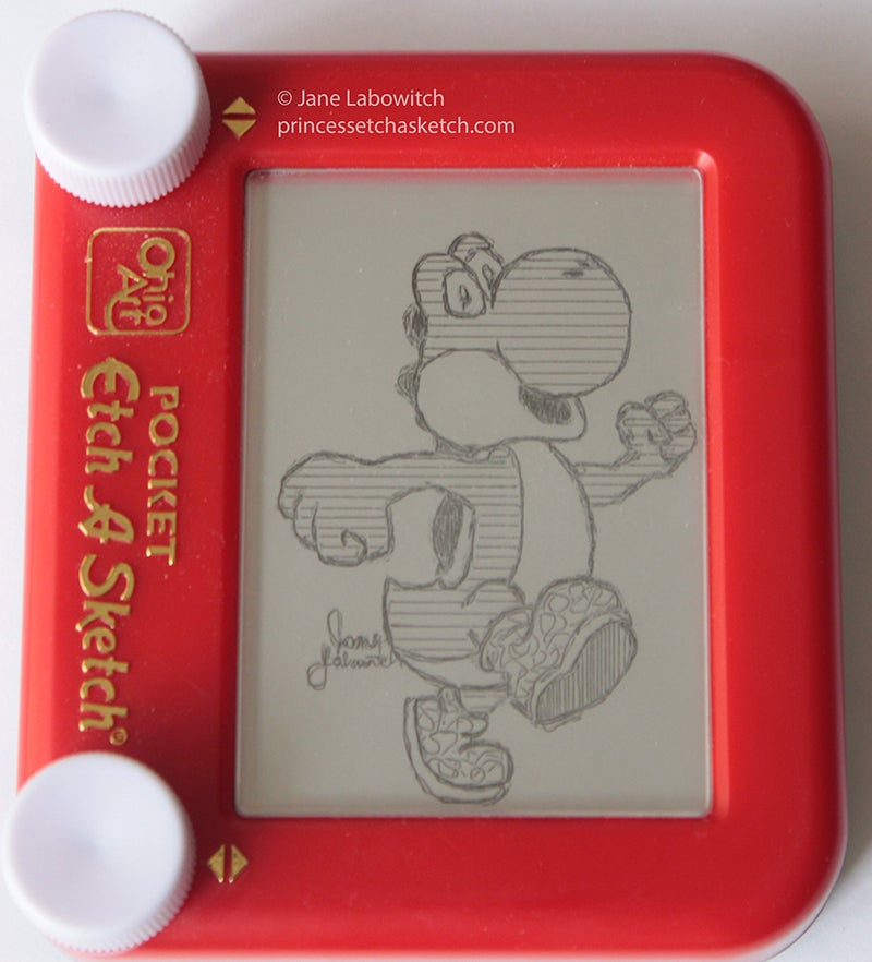 Meet The Most Amazing Etch-A-Sketch Artist I've Ever Seen