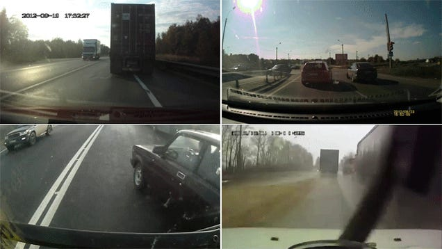 The Craziest Russian Dash Cam Videos Of 2012