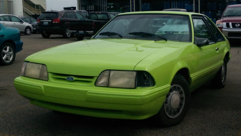 I hear that somebody here likes bright green Mustangs