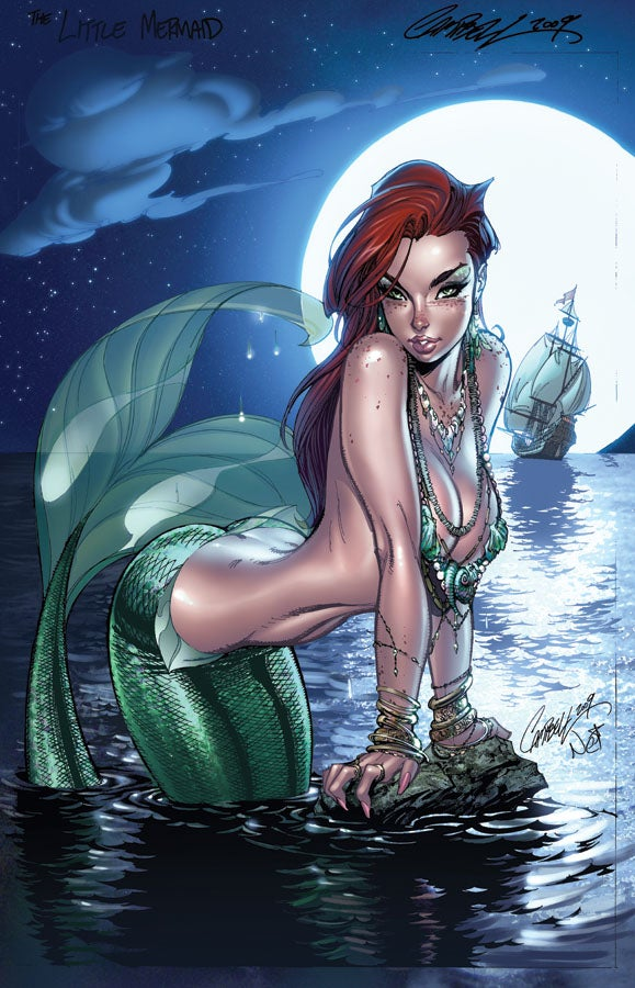 Disney's Princesses Reimagined As Comic Book Heroines