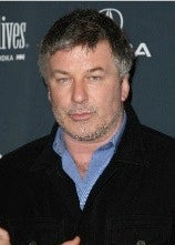 Alec Baldwin Sneaking Out of Own Movie Premier With Lady Friend