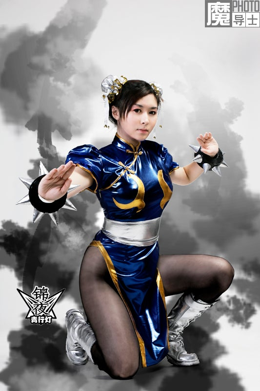Let China Show You How to Chun-Li and Final Fantasy