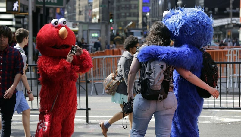 Being a Costumed Times Square Creeper May Soon Require a License