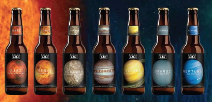 Enjoy A Bottle Of Jupiter With These Planet-Inspired Microbrews