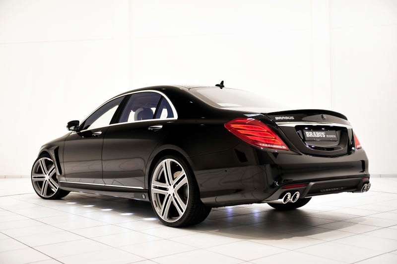 This Twin-Turbo, Mac-Equipped Mercedes Luxury Sedan Is A 'Land Jet'