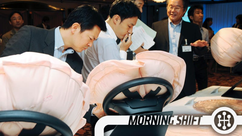 Explosive Japanese Airbag Recall Now Fifth Biggest In History