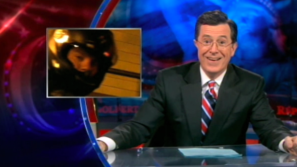 Should Stephen Colbert Get A Ticket For Taking Video Of A Guy Popping A Wheelie In The Lincoln Tunnel?