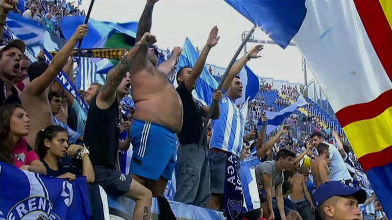 The Soccer Fans Who Ought Least To Go Shirtless Always Do