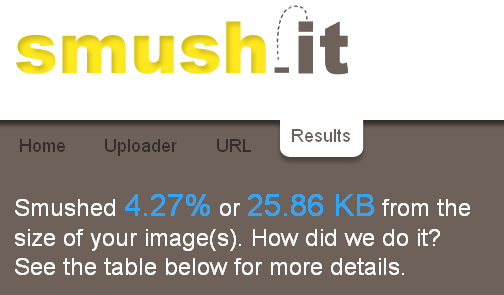 Smush.it Bulk Optimizes Images