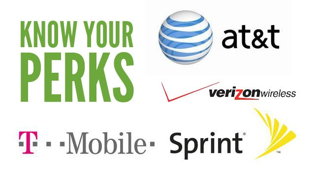 The Best Cellphone Carrier Perks Compared