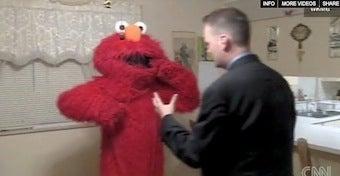 Video: Elmo Gets In A Brawl, Wins