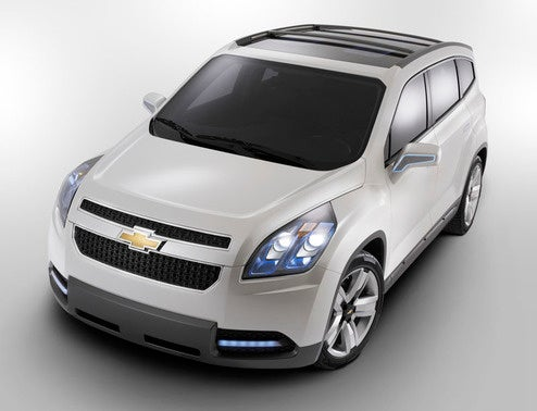 Chevy Orlando Concept Officially Revealed