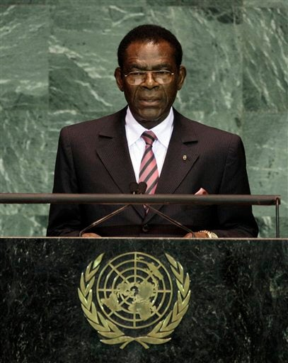 UN Gives Prize in the Name of Equatorial Guinean Dictator