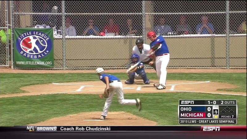This 12-Year-Old Little Leaguer Is Roughly The Size Of Kevin Youkilis