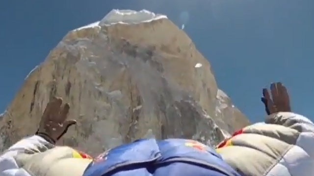 Wingsuit Flyer Leaps Off Himalayas and Into Record Books (UPDATE)