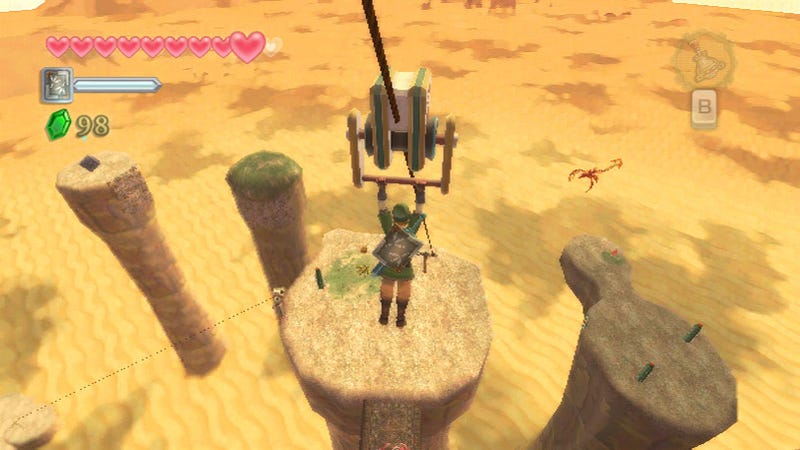The Legend of Zelda: Skyward Sword Pierces Game Critics' Hearts