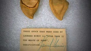 These were Leonard Nimoy's Spock ears in <i>The Wrath of Khan</i>