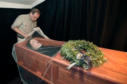 Special Effects Artist Creates Fake Poe Corpse, So We Can Bury Him Properly
