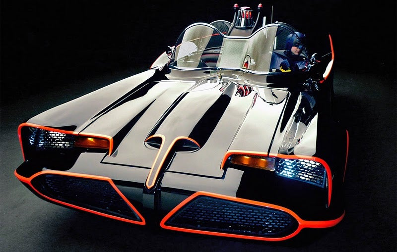 Awesome Official 1966 Batmobile Replicas Now for Sale