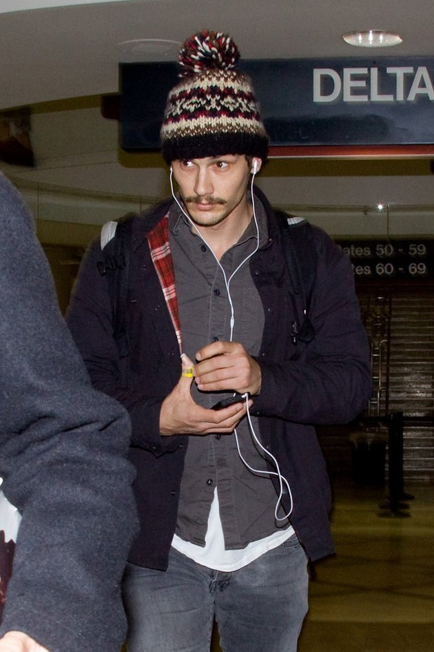 James Franco Keeps His Thoughts Warm & Fuzzy