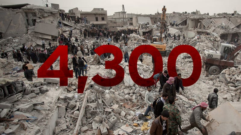 Thousands of Syrian Civilians Are Being Killed in Deliberate Air Strikes by the Government