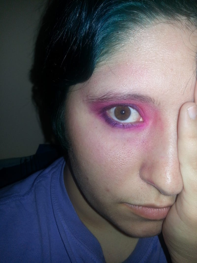 I played with my electric palette a little bit