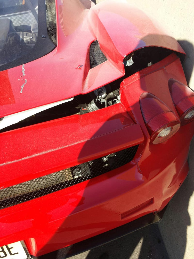 """Oh Yeah, They Floored It,"" Witness Describes '120 MPH' Ferrari Crash"