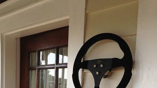 Everyone should hang their steering wheels on the wall