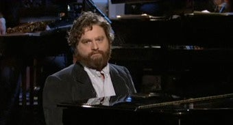 SNL: Zach Galifianakis Dances And Creeps His Way Into Our Hearts