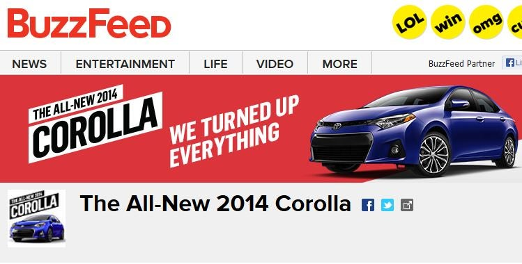 Automakers Are Using BuzzFeed More And That's Not Completely Terrible