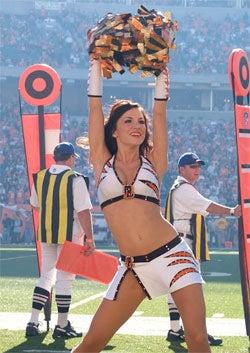 Cincinnati Cheerleaders More Than The Sum Of Their Pretty Parts