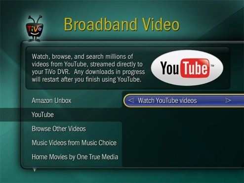 TiVo Getting YouTube Streaming TODAY