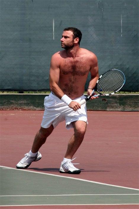 Liev Schrieber's Hairy, Schweaty (Tennis) Balls