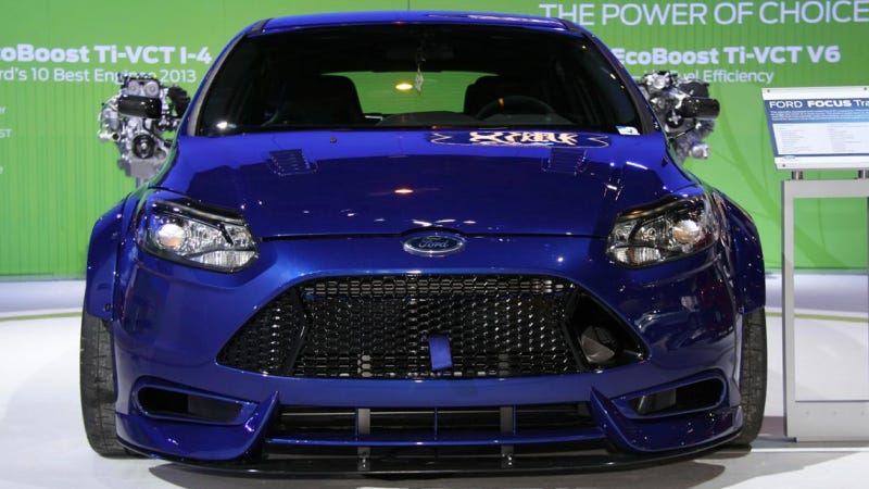 Ford TrackSTer: An Incredible 500 Horsepower Focus With A Stupid Name
