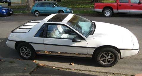 1985 Pontiac Fiero SE, With Bonus Fiero Judgment Poll