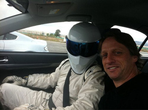 First Photo Of New American Stig