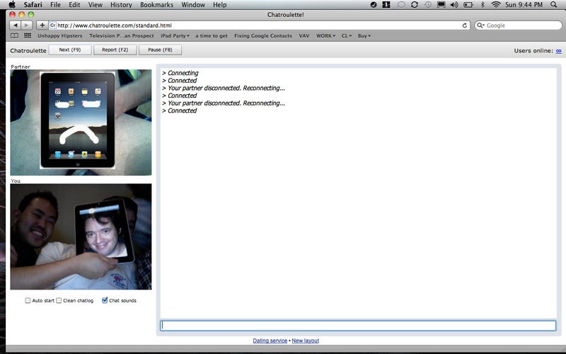 iPad Chatroulette Is the Way to Go
