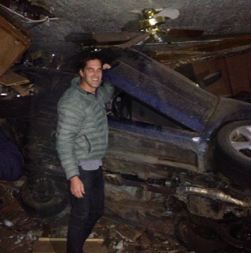 Mitt Romney's Son Rescues Victims, Smiles For Photo Op