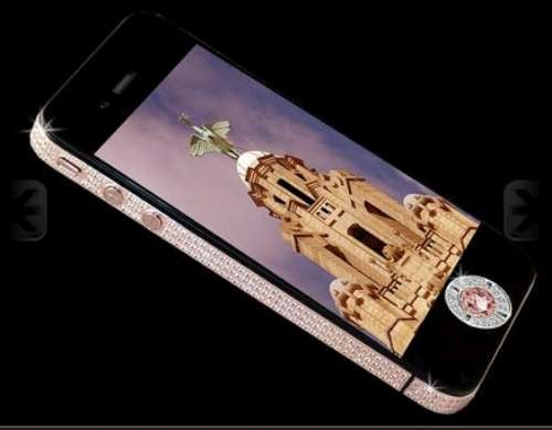 How'd You Like to Play Angry Birds on an $8M iPhone 4?