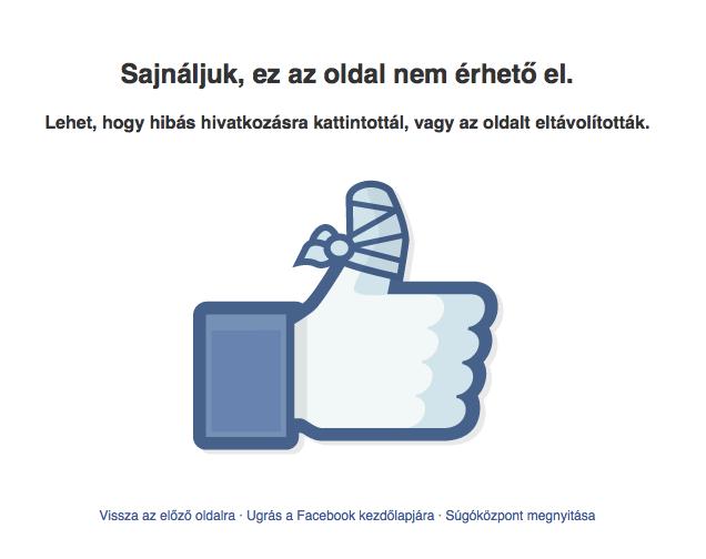 Törölték a Tolvajkergetőket a Facebookról